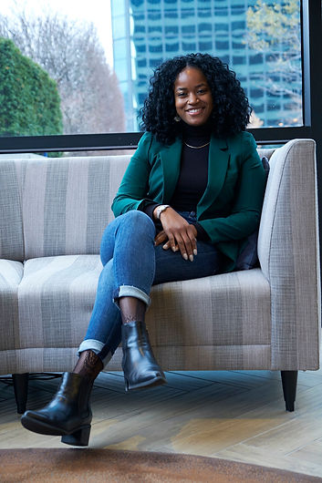 A photo of Adriele Parker, diversity, equity, & inclusion consultant and career coach
