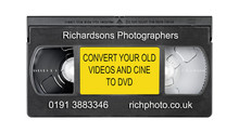 Video tapes and Cine film to DVD North East