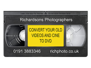 Cine film, VHS and camcorder tapes to DVD in Durham, Newcastle, Sunderland