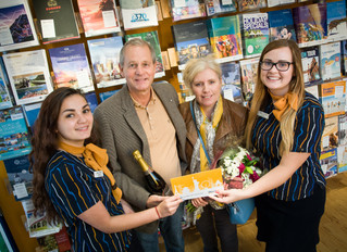 Another winner at Hays Travel