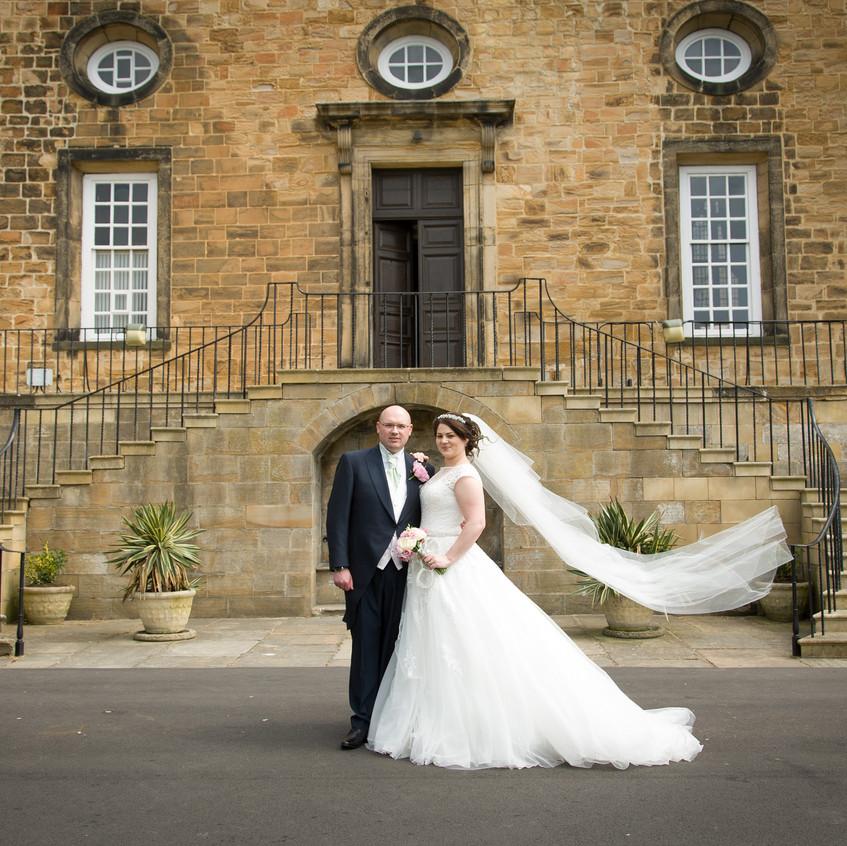 Wedding at Lumley