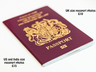 Passport photos, visa photos from £10 professionally taken and guaranteed