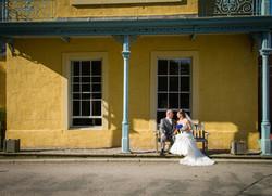 Wedding photo at Durham Registry