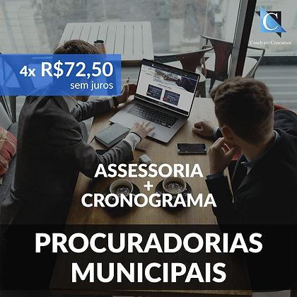 Assessoria - Procuradorias Municipais - Plano Mensal