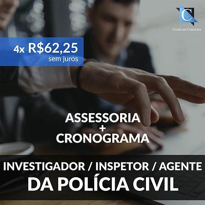 Excellence Training - Investigador da Polícia Civil - Plano Mensal