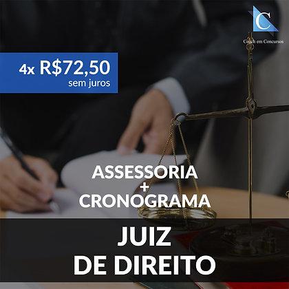 Assessoria - Juiz de Direito - Plano Mensal