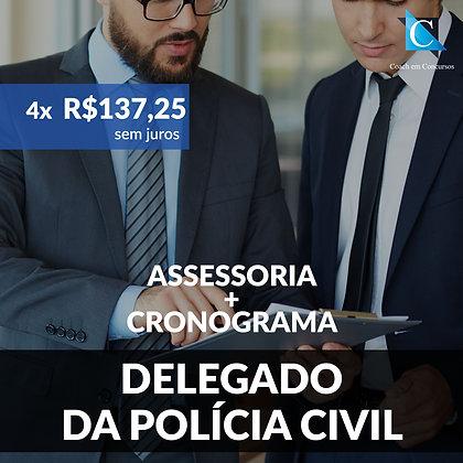 Assessoria - Delegado de Polícia Civil - Plano Bimestral
