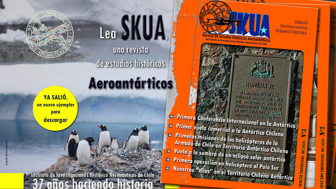 Revista histórica aeroantártica -SKUA-3