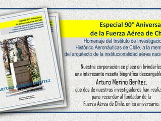 Especial 90° Aniversario de la Fuerza Aérea de Chile