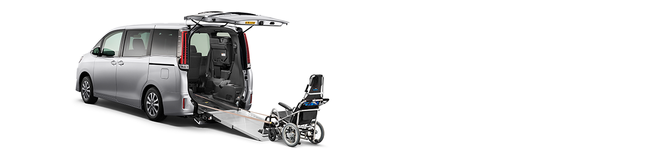 尾板斜台式 (單輪椅) Wheelchair-adapted Model ( Ramp Type )