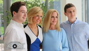 Cecily Tynan with Papa Family