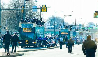 Eagles Parade down Broad Street
