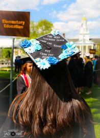 Elementary Education Graduation Cap