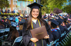 Christina Costante graduates from Rowan