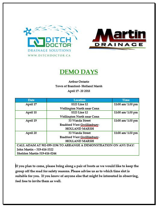Ditch Doctor Drainage Solutions