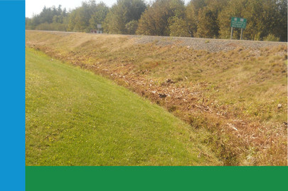Large store required restoration of ditch to remove high volumes of water at certain times of the year plus standing water at other times of the year. After just one pass the ditch was restored and land became manageable again.