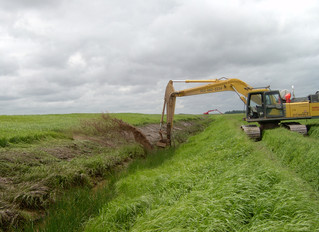 Equipment Journal article on Ditch Doctor Excavator Attachment https://www.equipmentjournal.com/cons