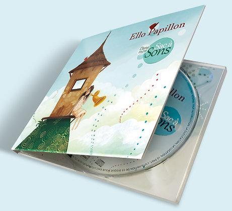 """Album """"Dans mon sac à sons"""" - CD+livret"""