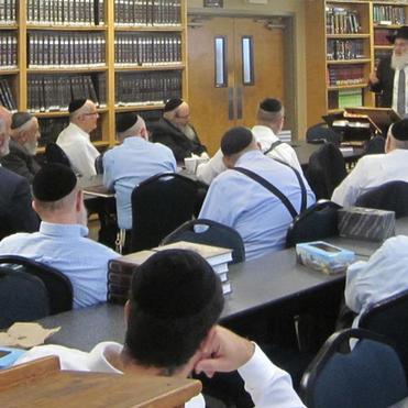 Rabbi Dovid Heber  at  Baltimore Agra D'