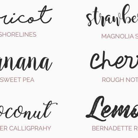 6 tipografías gratis de moda en el 2017