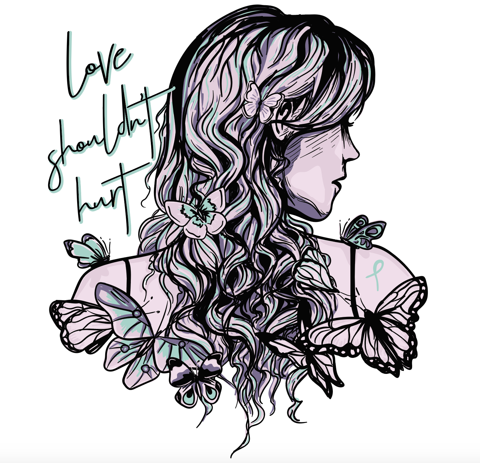 Love Shouldn't Hurt Illustration