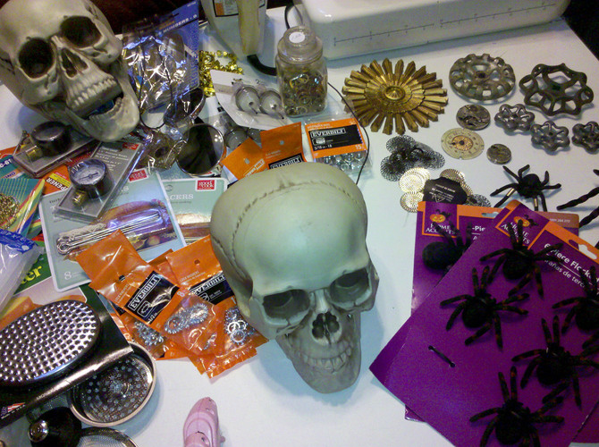 Home Depot Halloween Style Challenge Sneak Peek