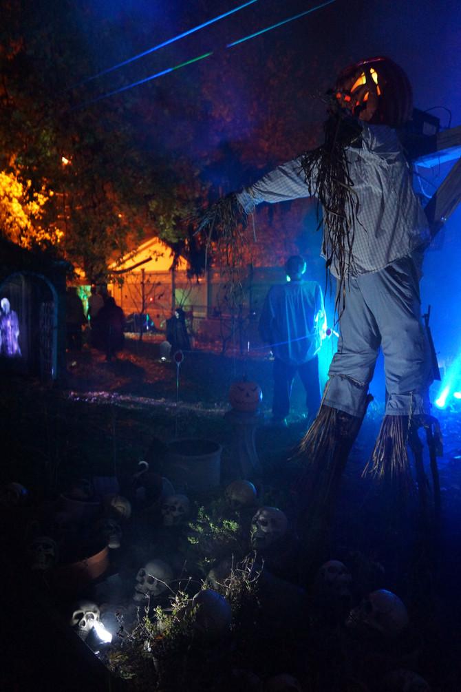 DIY Halloween Scarecrow