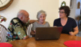 computer tutor senior citizen