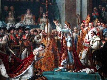 When Napolean Crowned Himself Emperor
