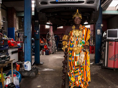 Meet The African Chief That Leads a Double Life In Germany