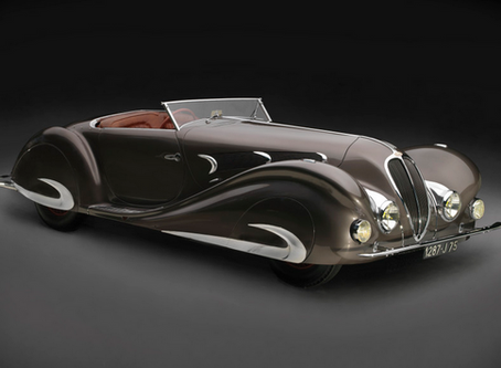 The Piece Of Art That Is The 1937 Delahaye