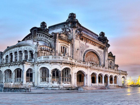 The Glorious Yet Now Abandoned Constanța Casino