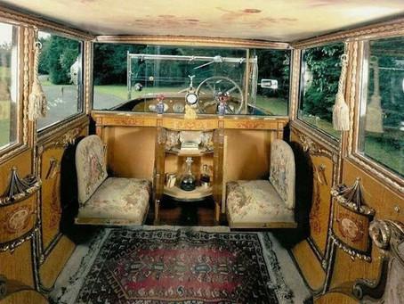The Glorious Inside of a 1926 Rolls-Royce Phantom