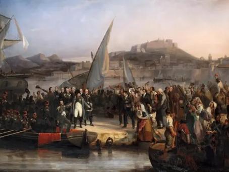 Napoleon and His Escape From Elba
