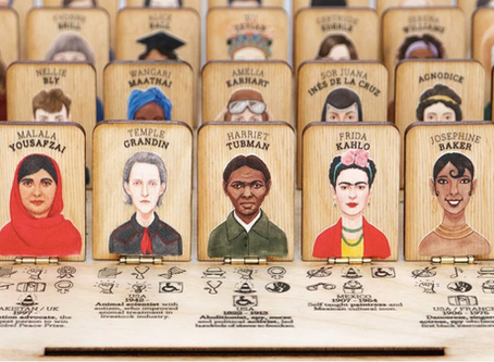 'Who's She' Guessing Game Celebrates Accomplished Women Throughout History