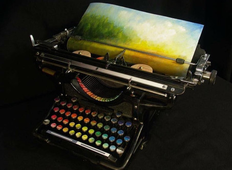 The Chromatic Typewriter That Types in Colour