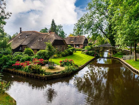 There's a Magical Little Town in the Netherlands Sitting On Calm Waters