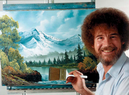 Almost Every Bob Ross Painting in Existence Lives in an Office in Virginia
