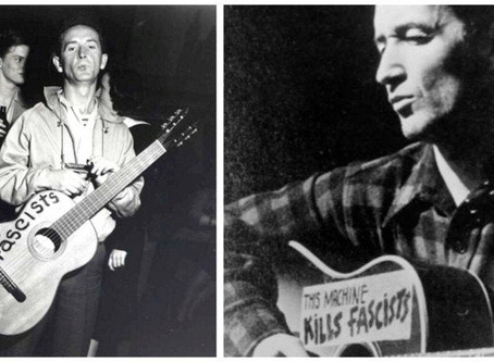 """This Machine Kills Fascists""The Life and Music of Woody Guthrie"