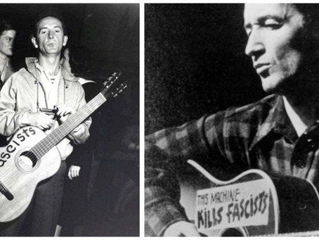 """""""This Machine Kills Fascists""""The Life and Music of Woody Guthrie"""