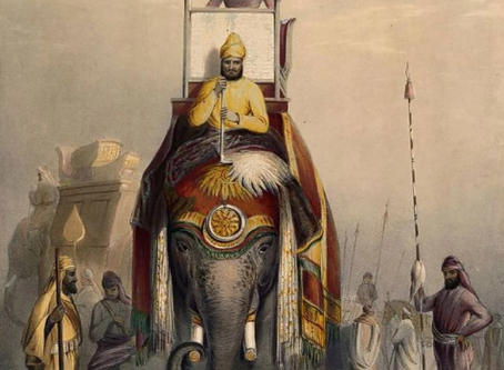 The Rajah from Tipperary (the tale of how an Irish farmer ended up ruling his own kingdom in India)