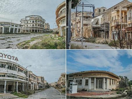 Inside Varosha, The Abandoned Resort in Cyprus.
