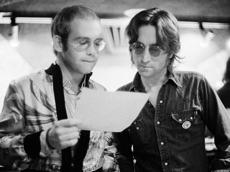 The Time Elton John Made John Lennon Physically Sick