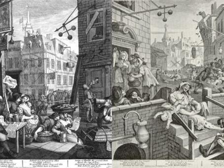 Hogarth's 'Gin Lane' and 'Beer Street'