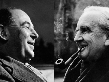 The Literary Club formed by CS Lewis and J. R. R. Tolkien, otherwise known as 'The Inklings'