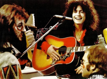 Marc Bolan and Born to Boogie: Directed by Ringo Starr (feat: Elton John)
