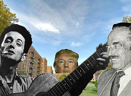 Woody Guthrie, 'Old Man Trump' and a Real Estate Empire's Racist Foundations