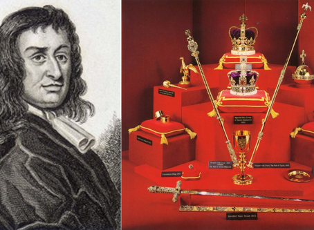 The Brilliant Story Of The Man Who Stole The Crown Jewels Of England And Got Away With It...