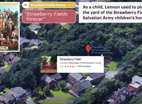A Virtual Tour of Every Place Referenced in The Beatles' Lyrics