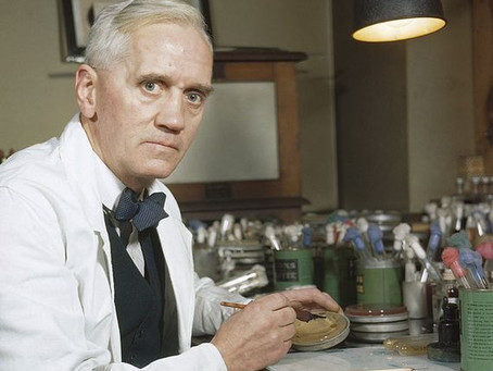 When Alexander Fleming discovered Penicillin by accident